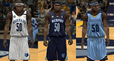 NBA 2K13 Realistic Grizzlies Jersey Mod Patch