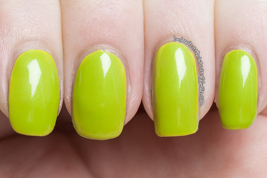 Illamasqua Radium nail polish swatch