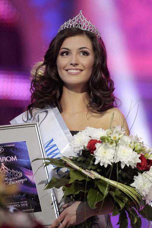 Julia Skalkovic,Miss Belarus 2012