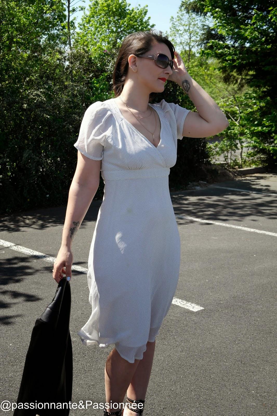 Look romantique en robe