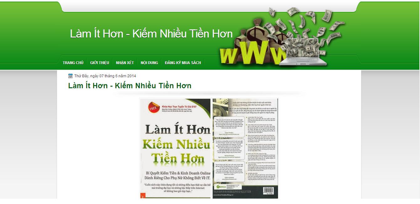 Chia sẻ 10 Template Blogspot Landing Page cực đẹp