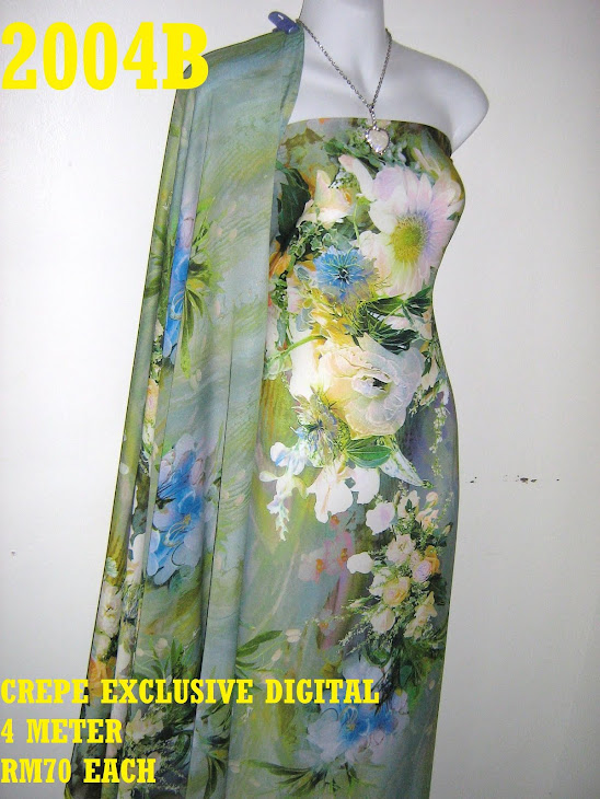 CP 2004B: CREPE EXCLUSIVE DIGITAL PRINTED, 4 METER