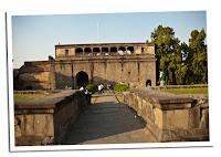 Ruinas del fuerte en Pune