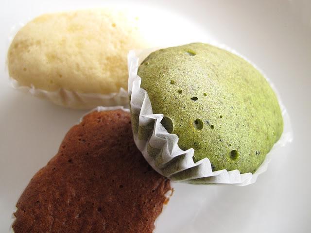Pâtisserie Yamazaki - Gâteaux vapeur
