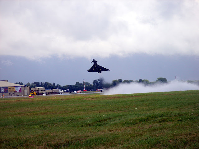 Eurofighter Typhoon vertical takeoff