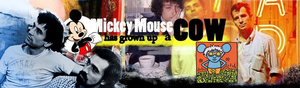MICKEY MOUSE has grown up A COW :: Tom Gameson's blog ~