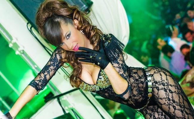 bailarina discoteca la galeria jerez