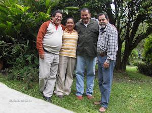 Ebert, Agabio, Luz  y Eliu