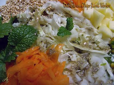 Ensalada otoñal con quinoa