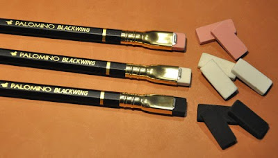Blackwing Pencils with removable erasers