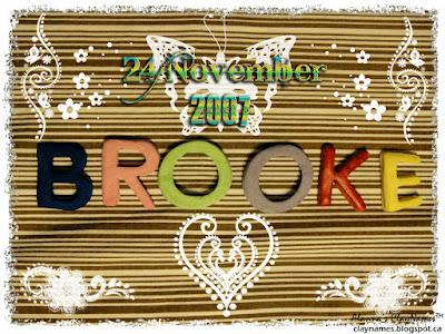 Brooke November 24 2007