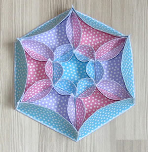 fabric boxes pattern sale