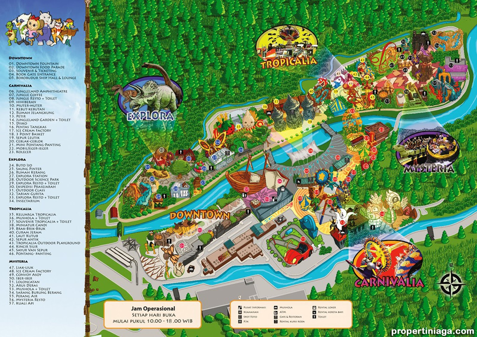 ... adventure theme park sentul bogor jungleland adventure theme park