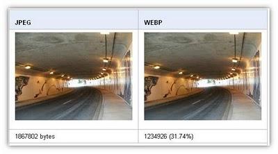 JPEG ve WebP resim formatı farkları
