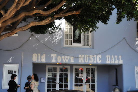 Old Town Music Hall by Lady by Choice