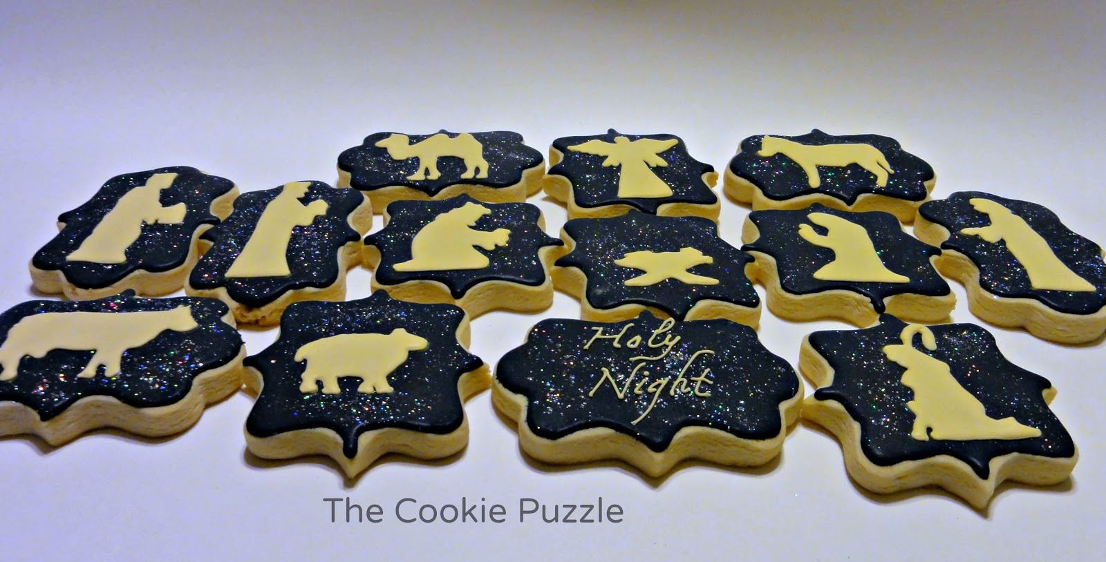 The Cookie Puzzle Nativity Cookies