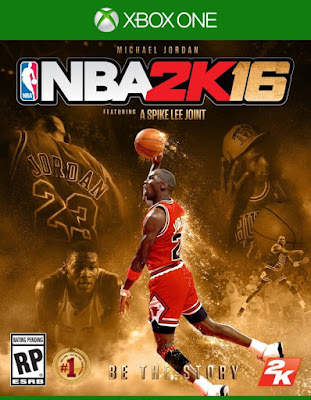 NBA 2k16 Michael Jordan Special Edition Cover PS4 Hoopsvilla.com