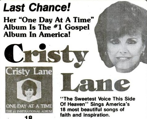 Cristy Lane I Just Can't Stay Married To You