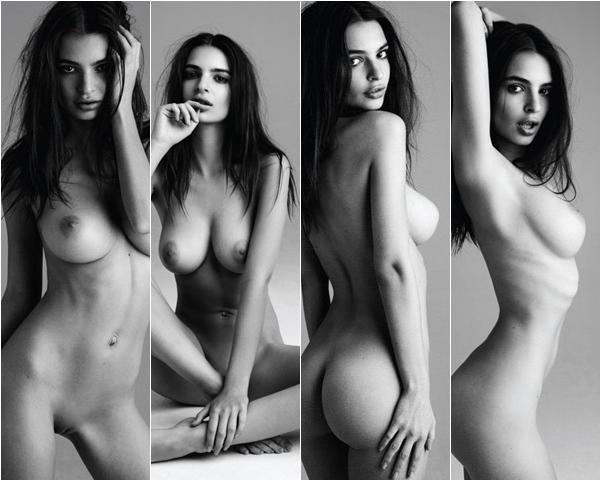 Emily Ratajkowski nua, pelada, sem roupa