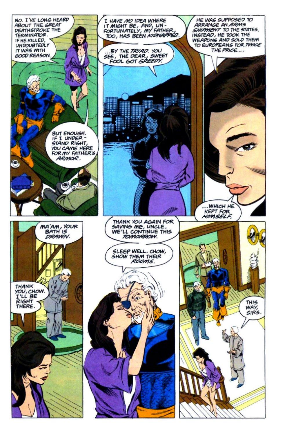 Deathstroke (1991) Issue #29 #34 - English 20