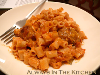 Dawna In The Kitchen Meatball Macaroni With Chipotle