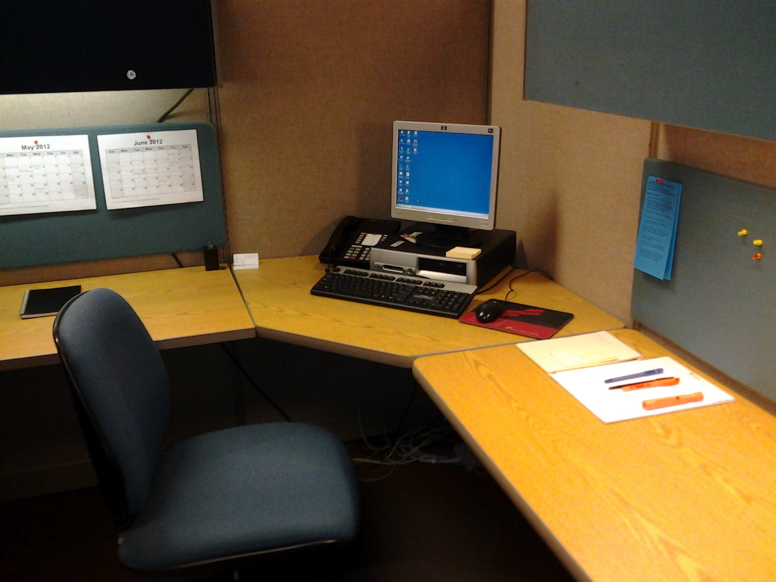 My double life first week as an intern for Cool things for your cubicle