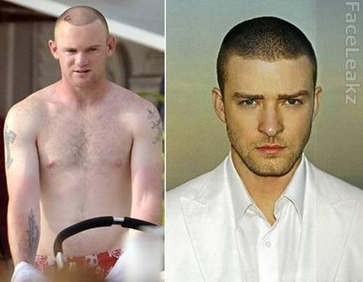 rambut baru wayne Rooney