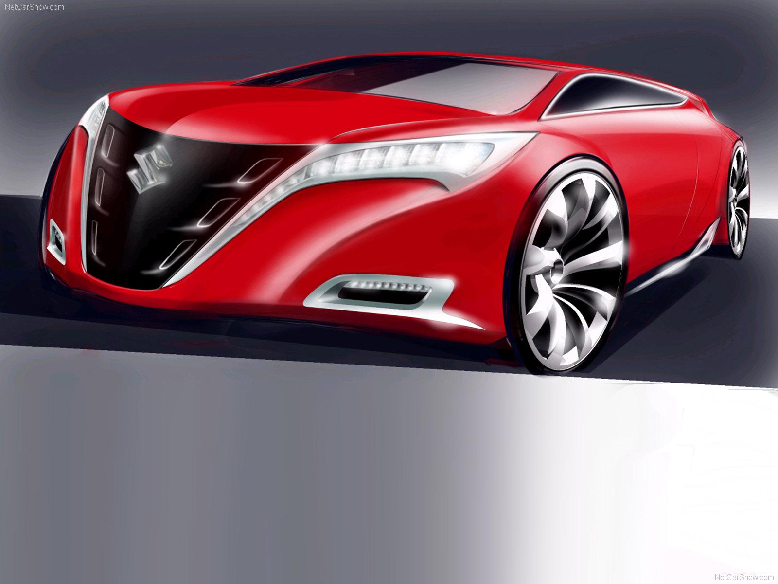 Hình ảnh xe ô tô Suzuki Kizashi Concept 2007 & nội ngoại thất