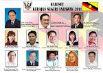 Ini Lah Kabinet Bayangan Baru Bian Di Sarawak