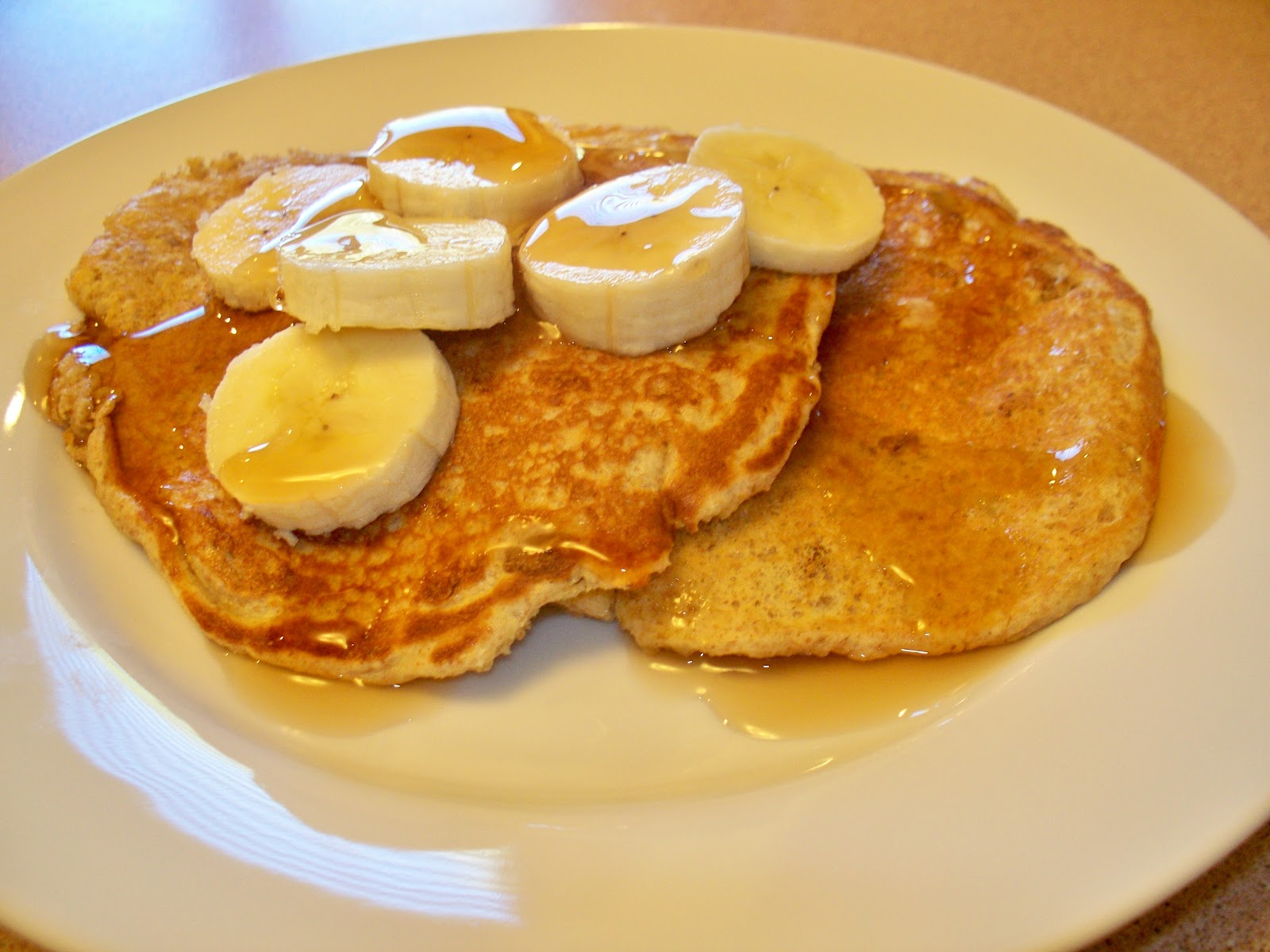 ... mood for some healthy banana nut pancakes for breakfast this morning