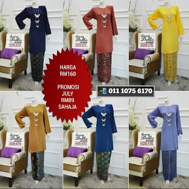 BAJU KURUNG PAHANG DHIA COLLECTION