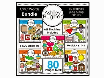 https://www.teacherspayteachers.com/Product/CVC-Word-Bundle-Graphics-for-Commercial-Use-458063