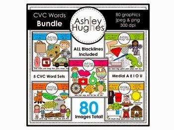 https://www.teacherspayteachers.com/Product/CVC-Word-Bundle-Graphics-for-Commercial-Use-458063