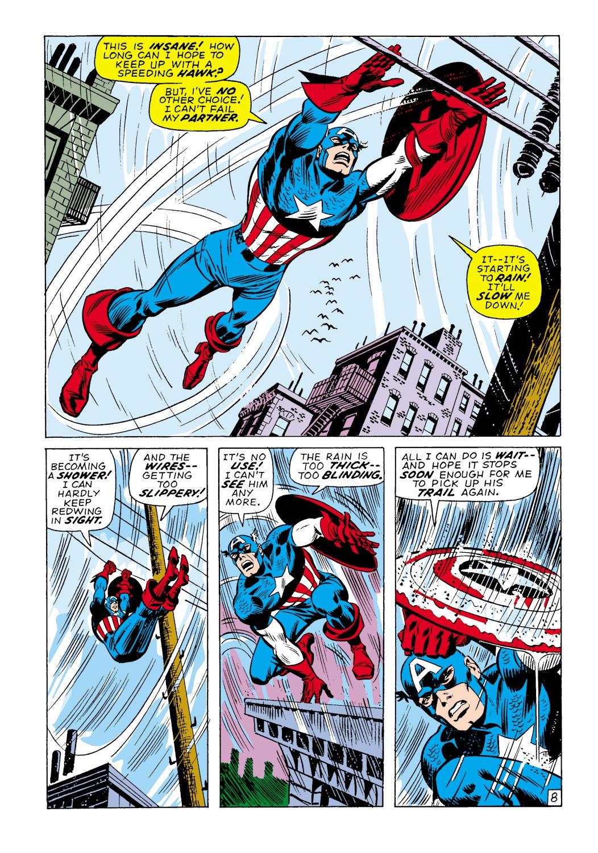 Captain America (1968) Issue #138 #52 - English 9