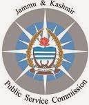 JKPSC Recruitment 2014
