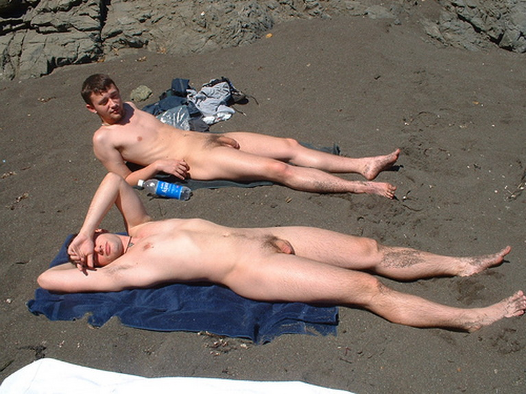 Naked Guys On Nude Beach