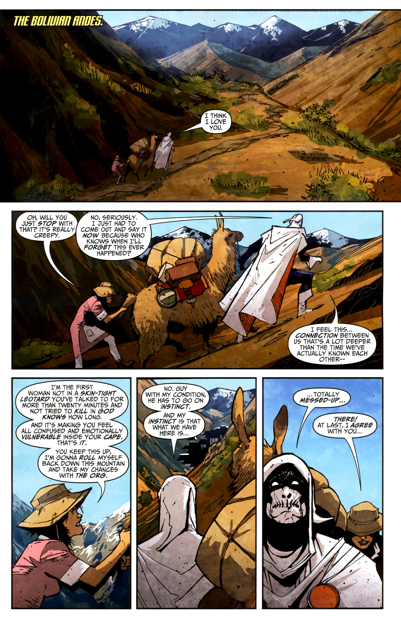 Read online Taskmaster (2010) comic -  Issue #3 - 2