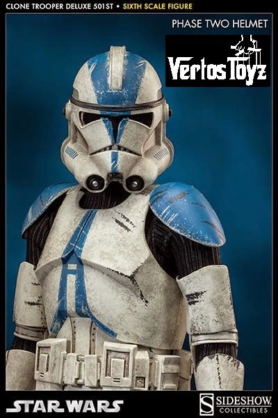 Ready Stock Sideshow Star Wars 1/6 scale 501st Legion Vaders Fist Deluxe
