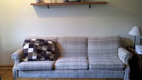 the couch before a minor change...