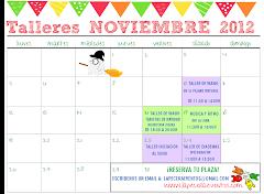 Calendario Talleres