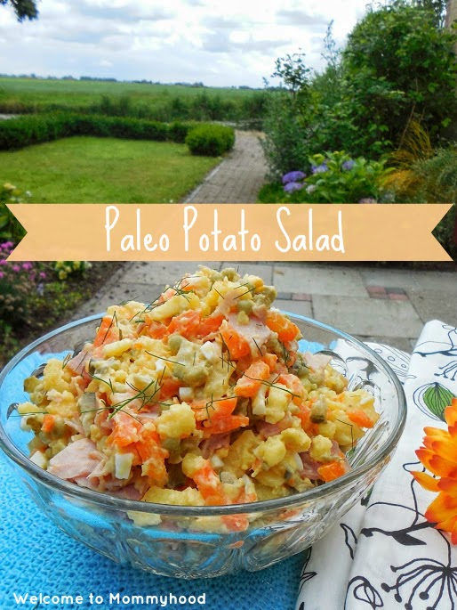 Healthy potato salad by Welcome to Mommyhood