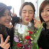 Eunjung and Hyomin went to Areum's graduation, check out their lovely group photos