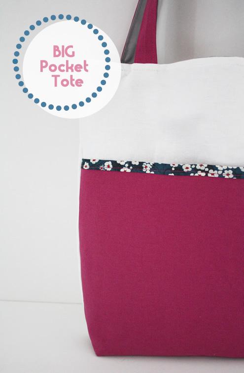 Fuchsia Pink Tote Bag