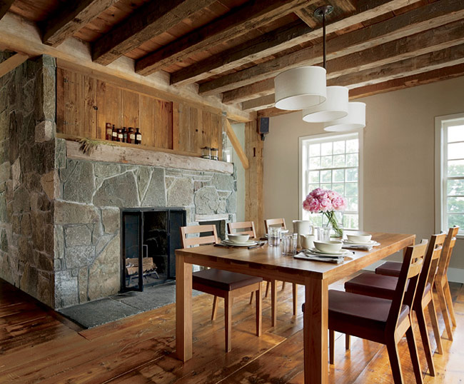 how to clean rough wood beams