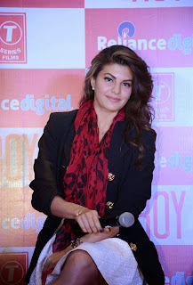 Actress Jacqueline Fernandez Pictures at Roy Movie Promotions 12