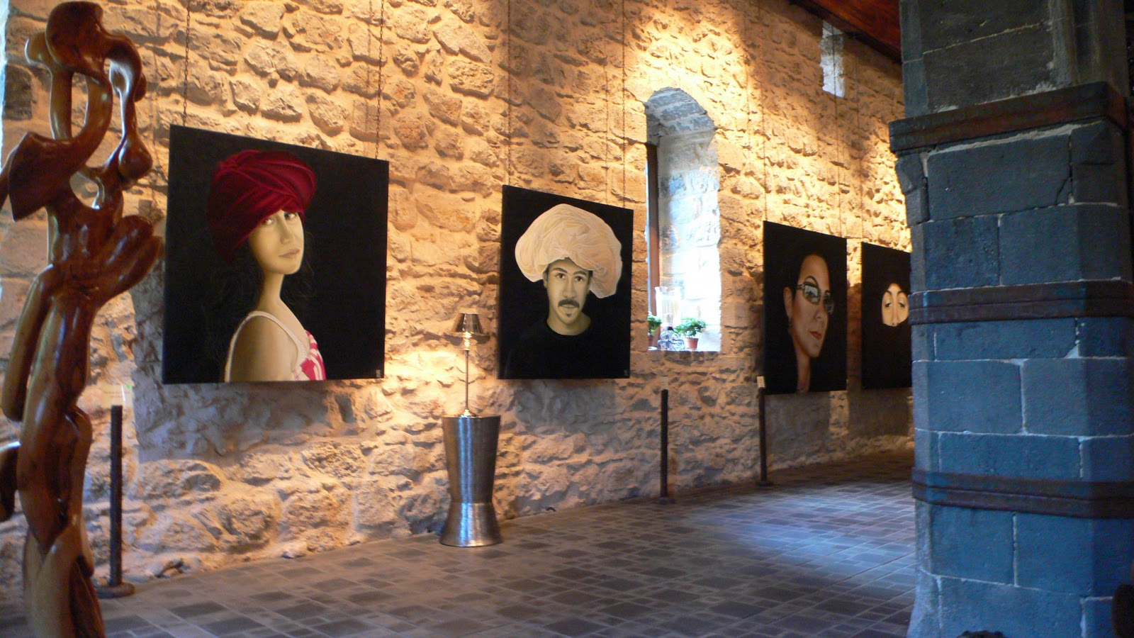 Bente christensen ernst exhibition in damascus may 2011 for The damascus house