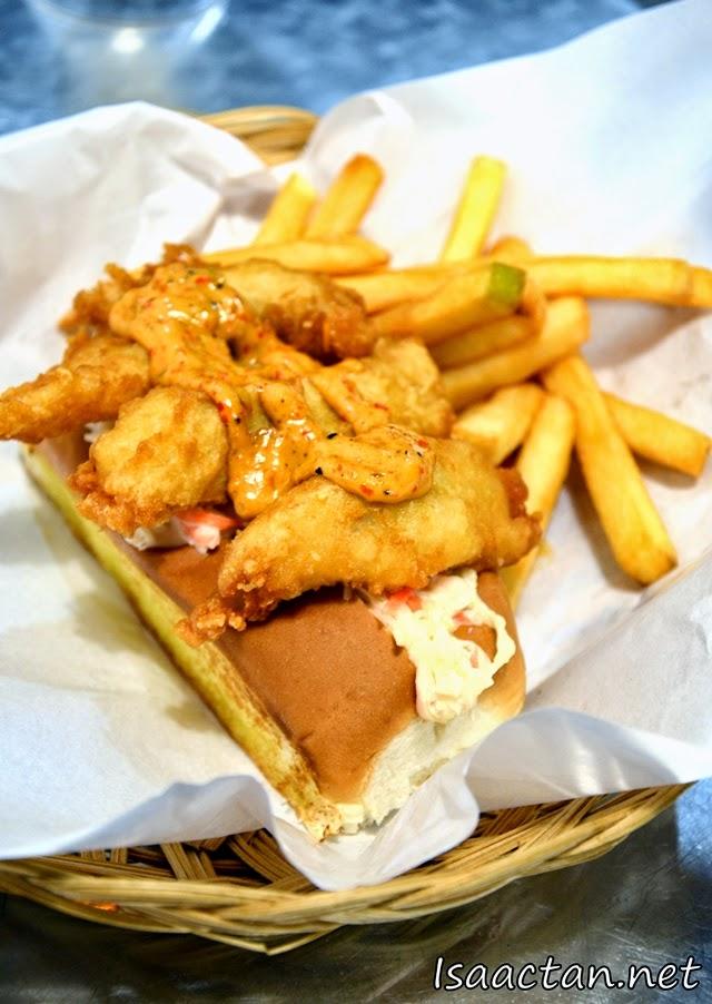 #14 Tempura Fish - RM10