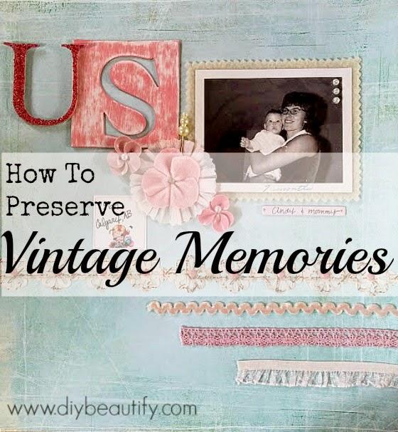 Vintage memories www.diybeautify.com