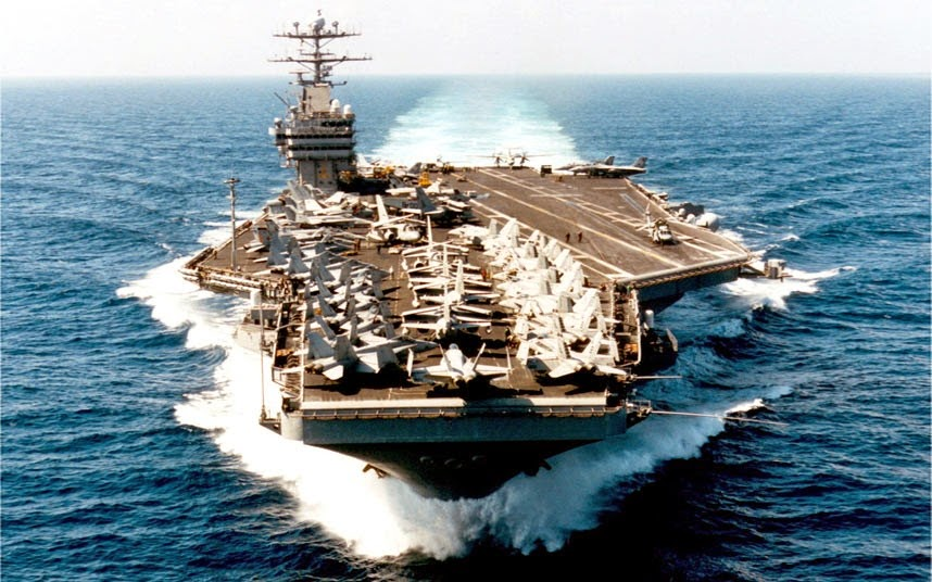 Warship: Nimitz-Class nuclear-powered aircraft carrier, USA