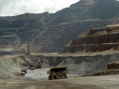 oktedi copper mine The ok tedi porphyry and skarn copper-gold deposits on mount fubilan (2053  masl) are located in the star mountains of far western papua new guinea,.